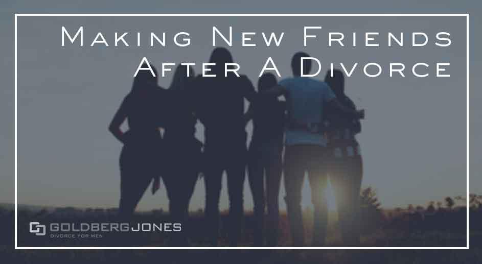 Making friends after divorce