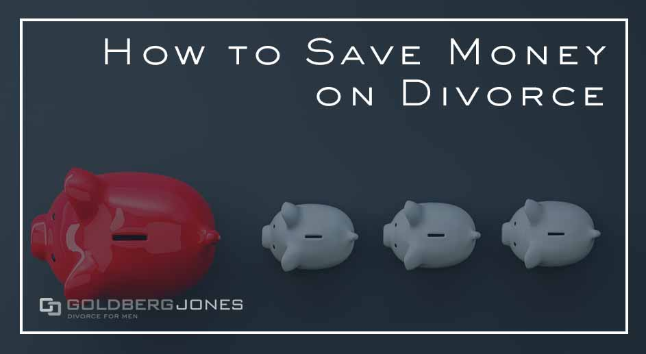 can you save money during divorce