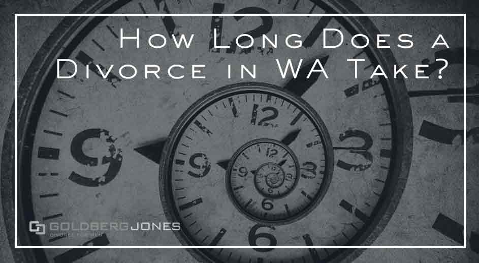 time it takes to divorce