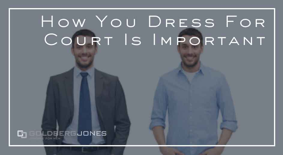 how to dress for court