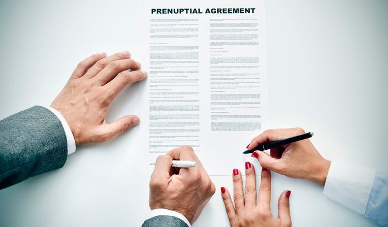 Goldberg Jones Prenuptial Agreement