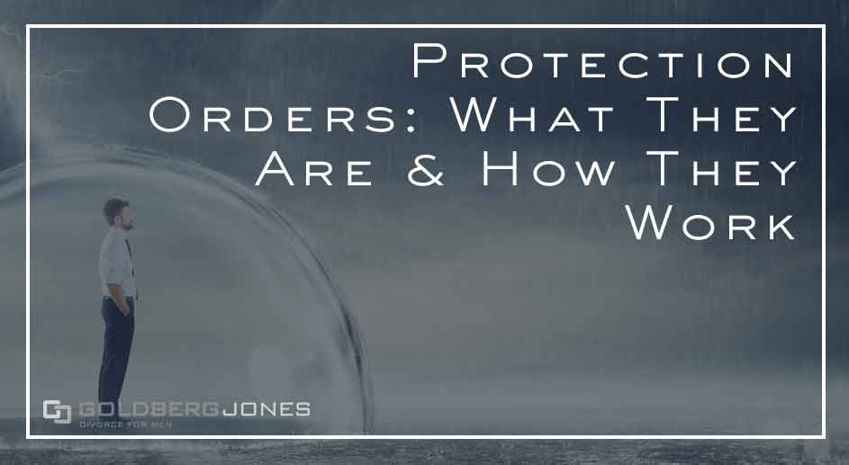 how do protection orders work