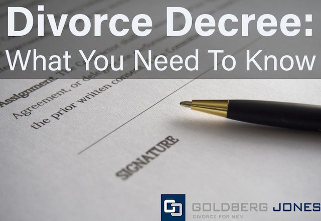 Divorce decree what you need to know goldberg jones divorce decree what you need to know solutioingenieria Images
