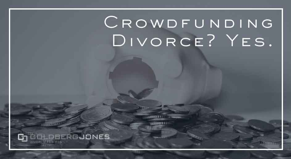 Crowdfunding Divorce? Yes.