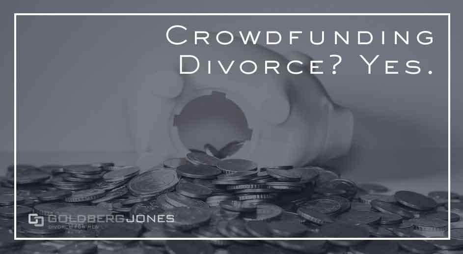 Crowdfunding Divorce? Yes.