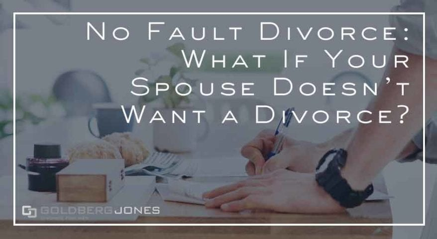 can a spouse prevent a divorce