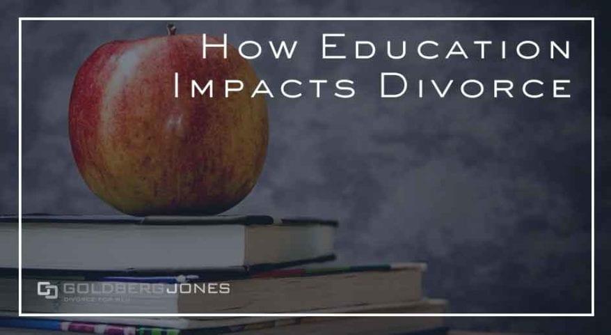can education level predict divorce