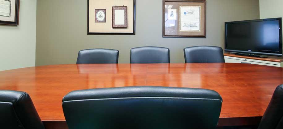 Goldberg Jones mediation table