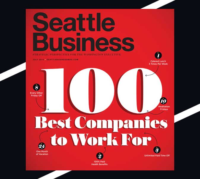 Seattle Business Magazine 100 Best Companies to work for 2014