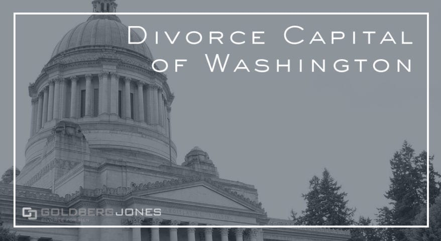which WA county has largest divorce rate