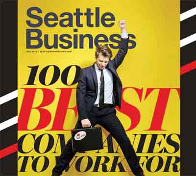 Seattle Business Magazine 100 Best Companies to work for 2017