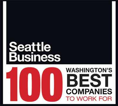 Seattle Business Magazine 100 Best Companies to work for 2013