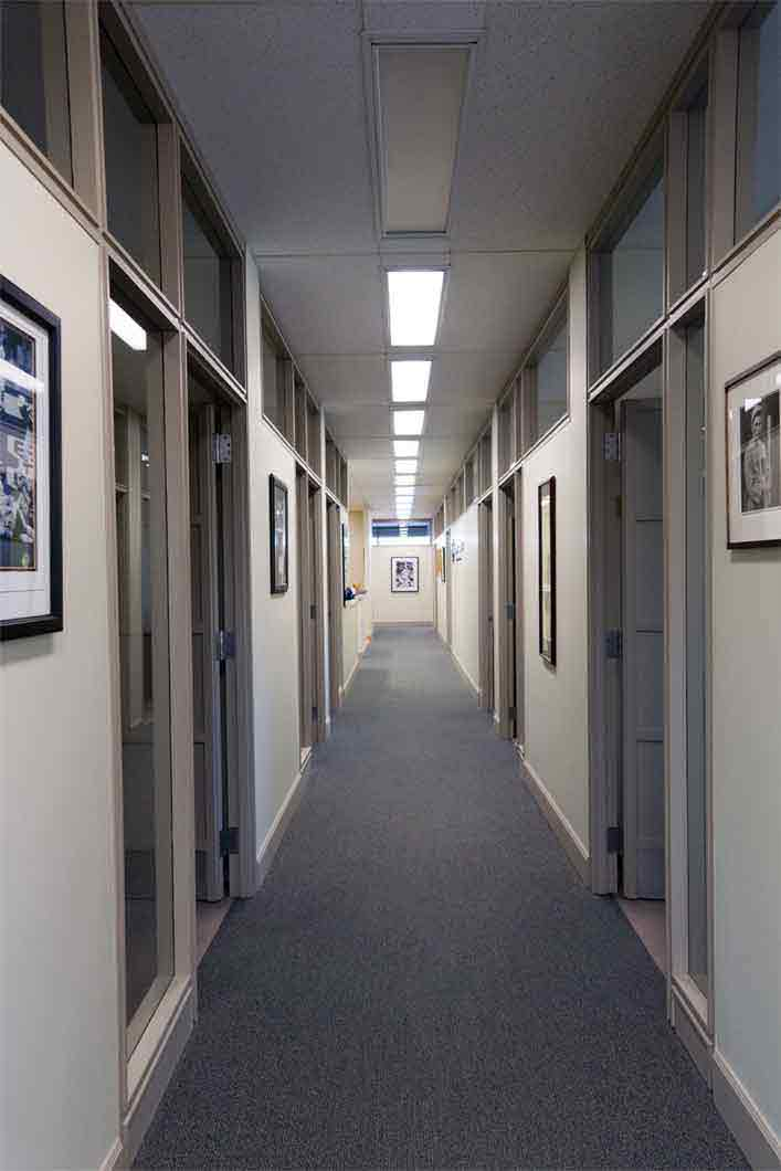 goldberg jones office hallway