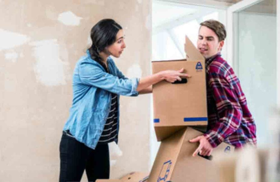 moving out family law