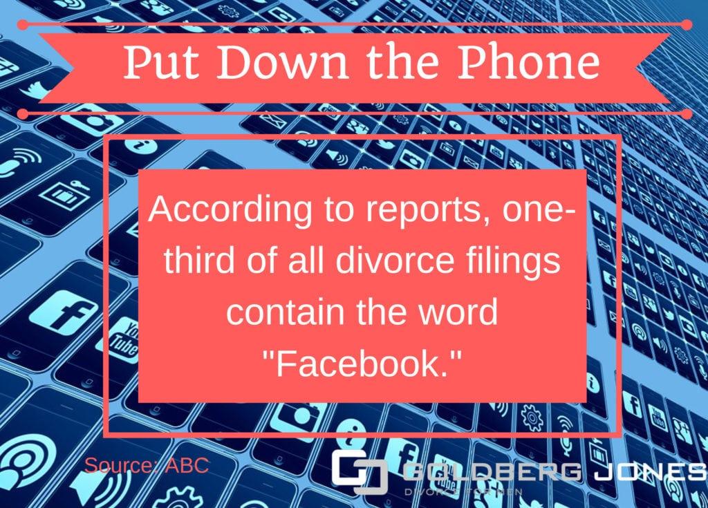 social media divorce infographic