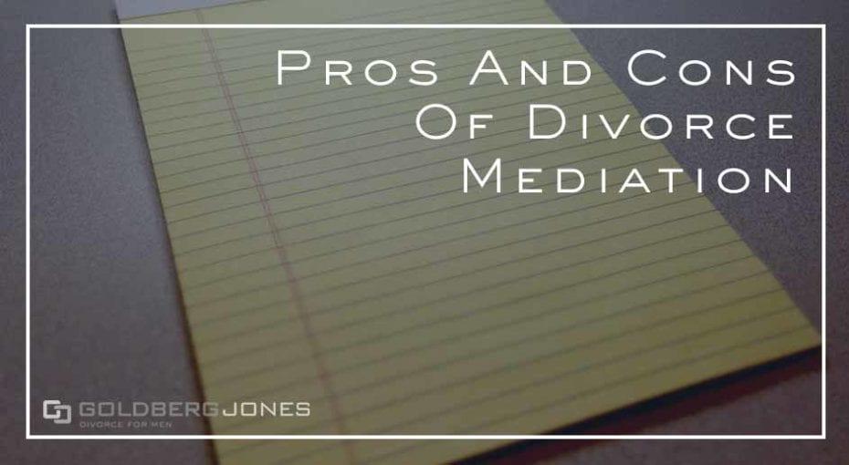 how does divorce mediation work