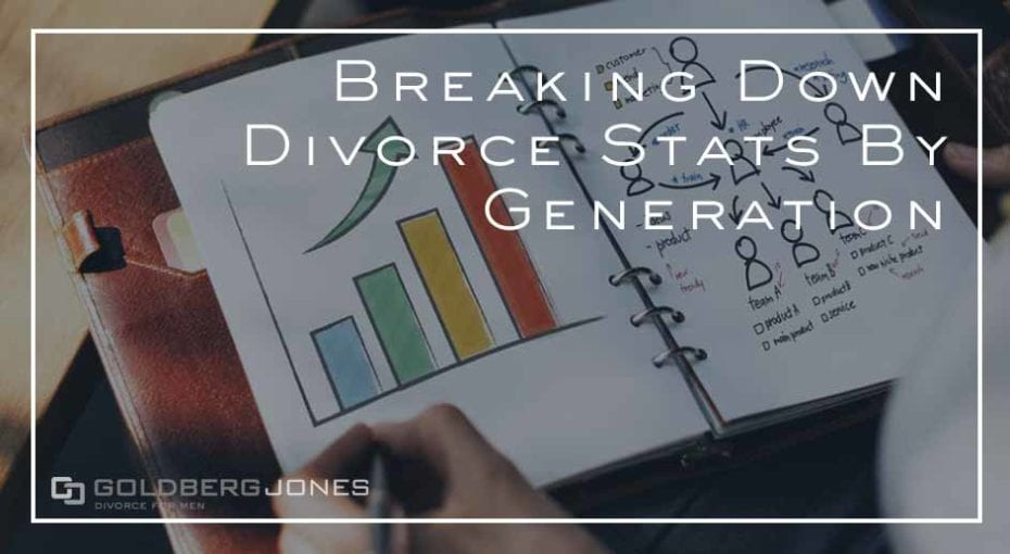breaking down divorce rates by generation