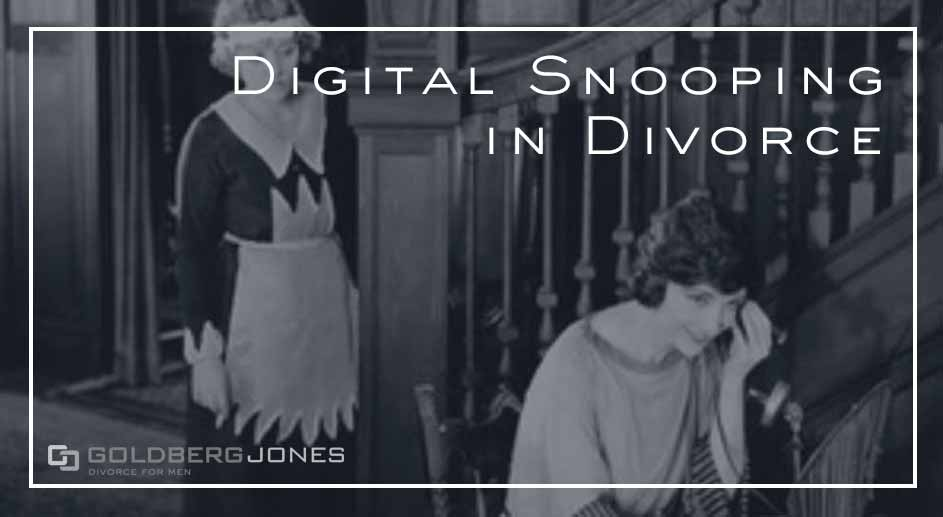 what is digital snooping in divorce