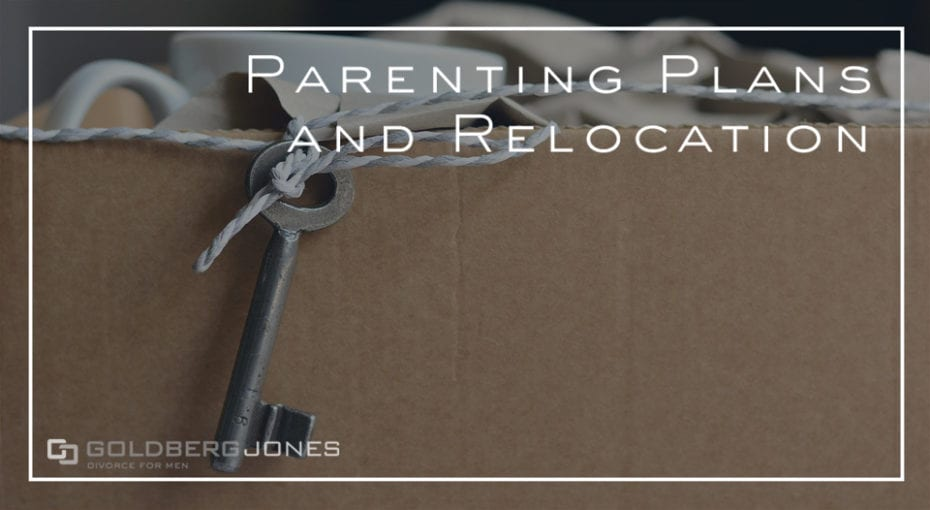 parenting plans, moving, and custody