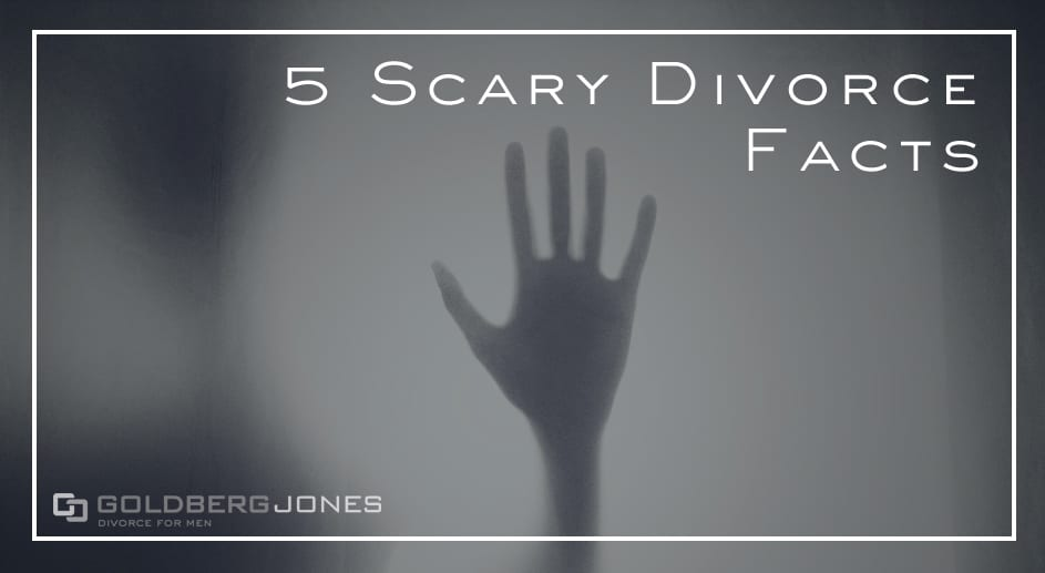 scary divorce hand