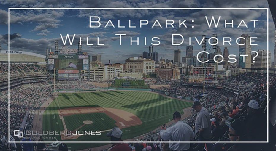 divorce cost baseball field