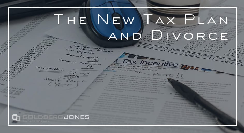 how does the tax plan affect divorce