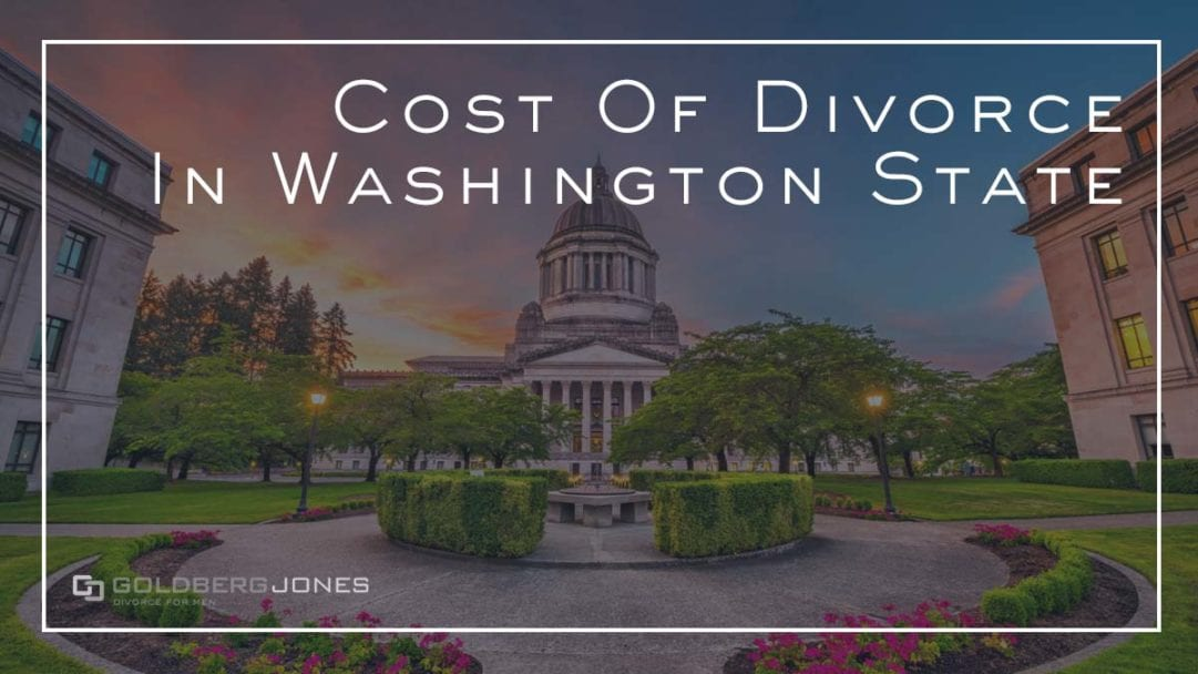 how much does a divorce cost in seattle