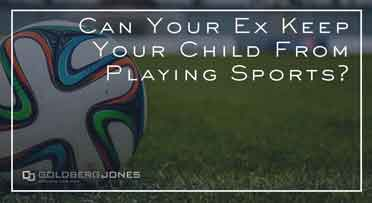 can ex keep kids from sports