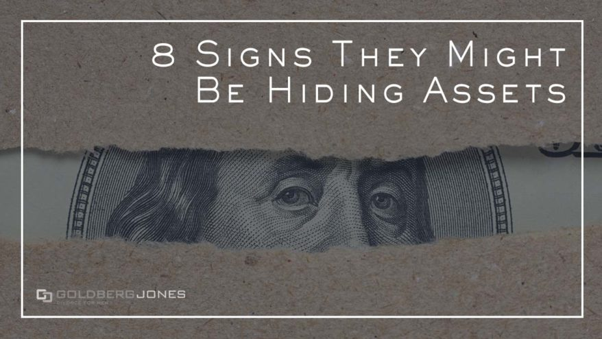 signs they may be hiding assets