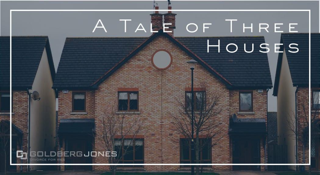 three brick houses