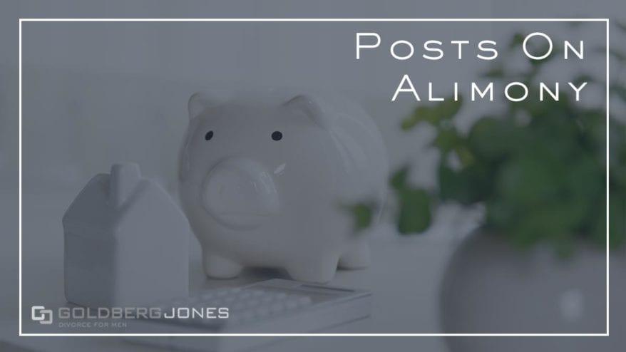 posts on alimony