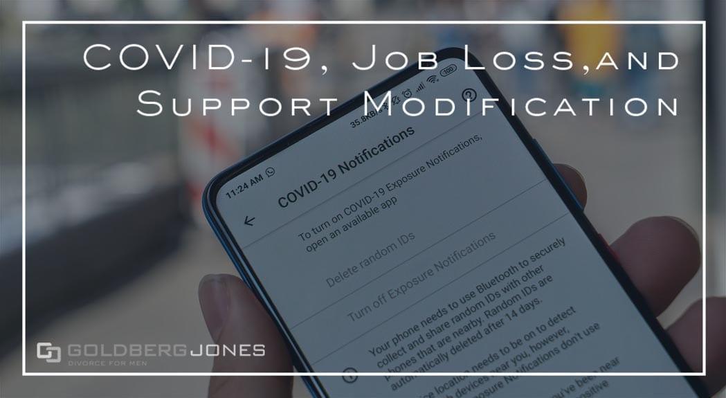 covid 19 job loss support modification