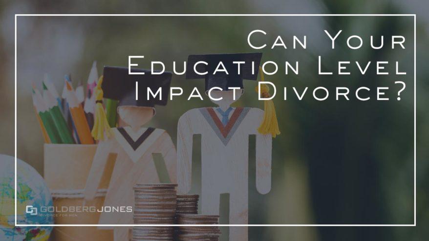does your education affect chances of divorce?