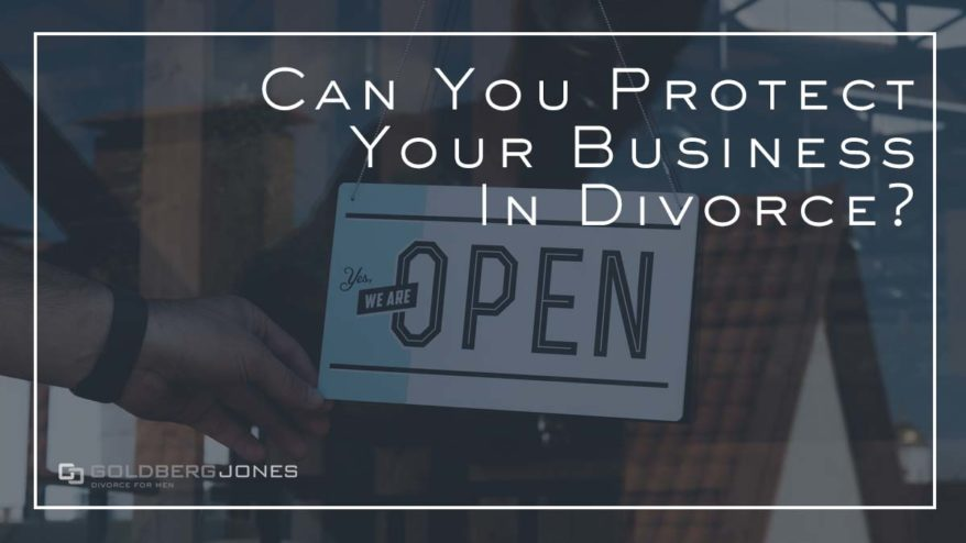 is a business a divisible asset in divorce